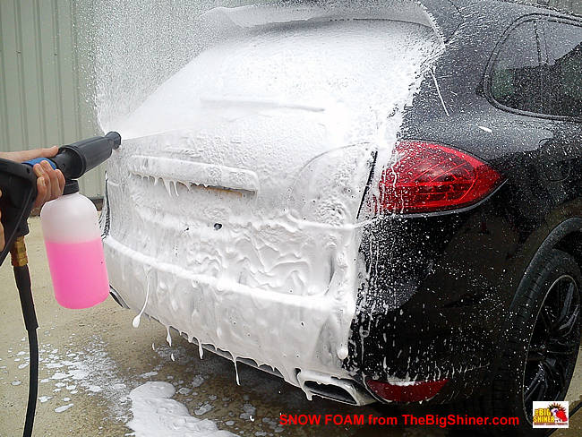 Foam-injector-for-car-washer