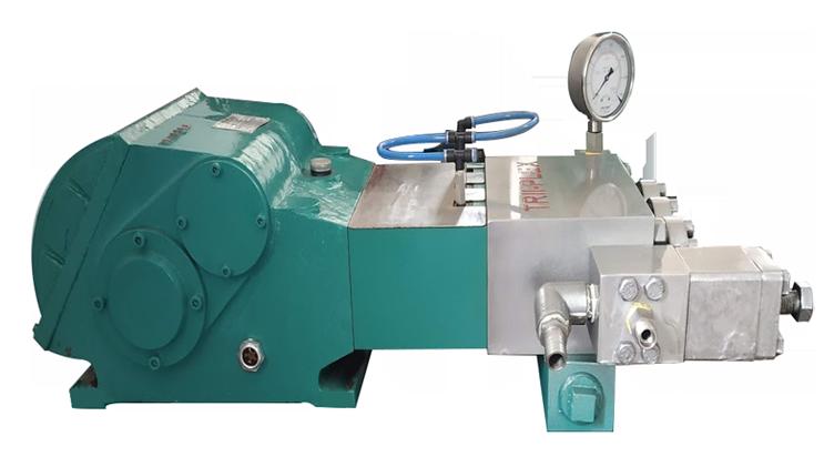 Triplex Plunger Pump - Trii-Plex, High Pressure Plunger Pump, ट्रिपलेक्स उच्च दबाव प्लंजर पंप -Trii-plex Jettech Systems, Ahmedabad _ ID- 18000992352